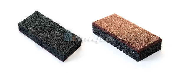 Резиновая плитка и брусчатка