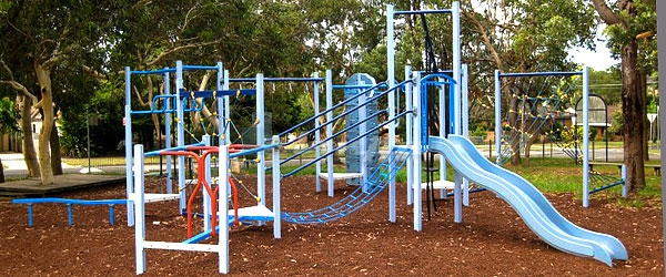 Оборудование для детских игровых площадок