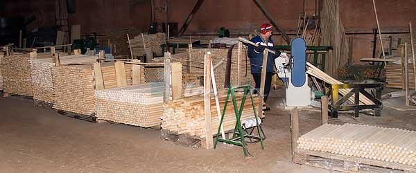 Производство черенков нагелей и шкантов