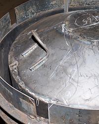 Форма для производства бетонных колец