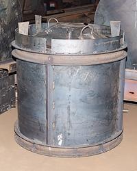 Виброформа для изготовления бетонных колец