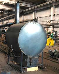 Пирлизная печь для древесного угля Чемпионка