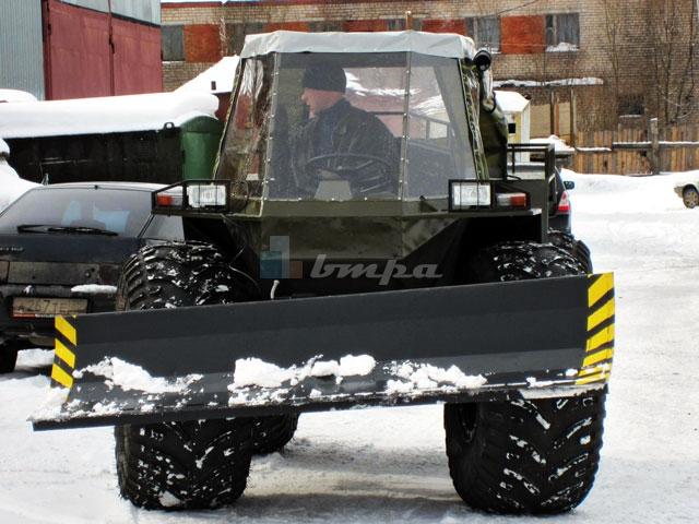 Компактный и многозадачный: в России создан оригинальный вездеход «Рыбак»