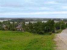 Деревня Горицы - Горицкий монастырь и причал для кораблей