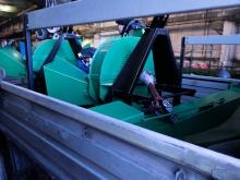 Отправка щепорубительных машин с завода изготовителя
