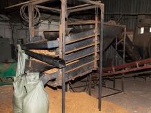 Линия сортировки и фасовки готовой сухой щепы