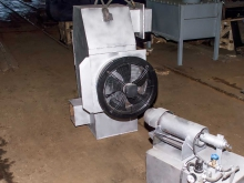 Теплообменник и дизельная горелка от барабанной сушилки