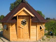 Установка и сборка гриль домика на фундамент