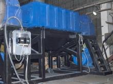 Двухвальный шредер 150 кВт