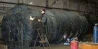 Производство промышленных углевыжигательных печей для выпуска древесного угля