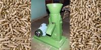 Пресс для производства топливных гранул