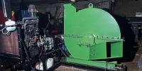 Дисковая рубительная машина для древесины больших сечений