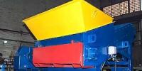 Промышленный шредер для дерева, пластика, мусора, резины