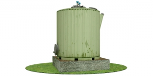 Биореактор БУГ-1 для утилизации отходов сельского хозяйства