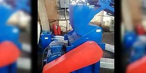 Дробилка для резины в составе линии по утилизации автомобильных шин