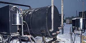 Открыта площадка для переработки резины в топливо